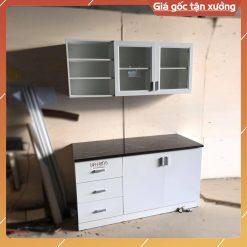 Kệ bếp gỗ công nghiệp GHF-6970