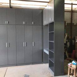 Tủ áo gỗ công nghiệp MDF chống ẩm có bàn trang điểm GHF-7113
