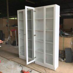 Tủ trưng bày gỗ công nghiệp cánh kính GHF-6819