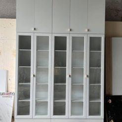 Tủ trưng bày sản phẩm gỗ công nghiệp MDF chống ẩm cánh kính GHF-7027
