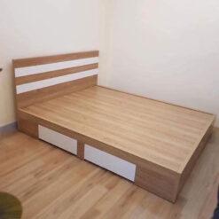 Giường gỗ công nghiệp MDF chống ẩm GHF-7296
