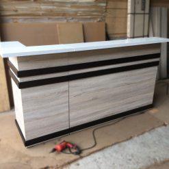 Quầy tính tiền gỗ công nghiệp GHF-7243